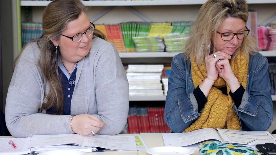 Enseignantes en formation d'éducation au goût