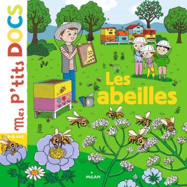 Illustration Mes p'tits docs Les Abeilles